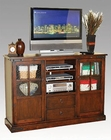 Distressed Brown Cherry TV Console SU-2794DC