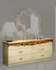 Double Dresser Gold Baroque Classic Style Made in Italy 33B425