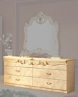 Double Dresser Ivory Baroque Classic Style Made in Italy 33B415