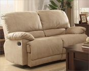 Double Glider Reclining Loveseat Elsie by Homelegance EL-9713NF-2