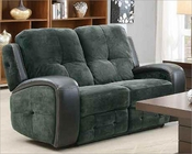 Double Glider Reclining Loveseat Flatbush by Homelegance EL-9626-2