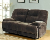 Double Glider Reclining Loveseat Geoffrey by Homelegance EL-9723-2