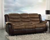Double Reclining Sofa Bunnell by Homelegance EL-9666-3