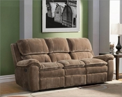 Double Reclining Sofa Reilly by Homelegance EL-9766CP-3