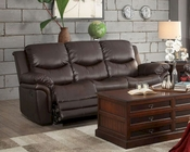Double Reclining Sofa St Louis Park by Homelegance EL-8515BRW-3