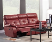 Double Reclining Sofa Wallace by Homelegance EL-9604RED-3