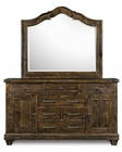 Drawer Dresser and Mirror Brenley by Magnussen MG-B2524DM