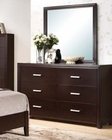 Dresser w/ Mirror in Contemporary Style Ajay by Acme AC21435DM