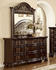 Dresser w/ Mirror in Traditional Style MCFB366-DM