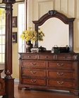Dresser w/ Mirror in Walnut Roman Empire III by Acme AC23348DM