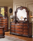Dresser w/ Mirror Nathaneal by Acme Furniture AC22315DM