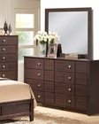 Dresser w/ Mirror Racie by Acme Furniture AC21945DM