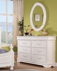 Dresser w/ Mitrror Classique by Acme Furniture AC30131DM