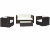 Elena Outdoor Patio 4pc Sofa Set 44P6420