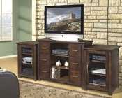 Encore Entertainment - Entertainment Center in Dark Walnut AP-TEL-1