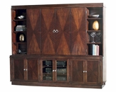 Entertainment Console w/ Hutch Metropolis by Hekman HE-704190067CH