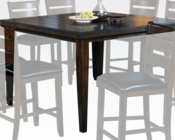 Espresso Color Counter Height Table Urbana by Acme AC74630