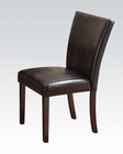 Espresso Finish Chair Idris by Acme AC70522 (Set of 2)
