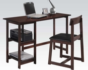Espresso Pack Desk w/ Chair by Acme Furniture AC92046