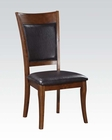 Espresso Side Chair Belinda by Acme Furniture AC71697 (Set of 2)
