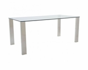 Euro Style Glass Dining Table Beth EU-38700