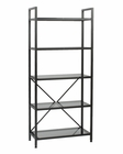 Euro Style Madrid 5 Shelf Unit EU-23556