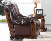 European Design Classic Chair in Light Brown Finish 33SS154