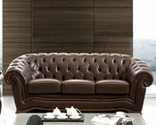 European Design Classic Style Sofa in Brown Finish 33SS62