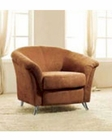 European Design Modern Chair in Warm Brown Finish 33SS162