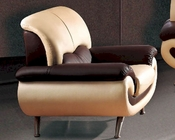 European Furniture Modern Two Tone Chair 33SS14