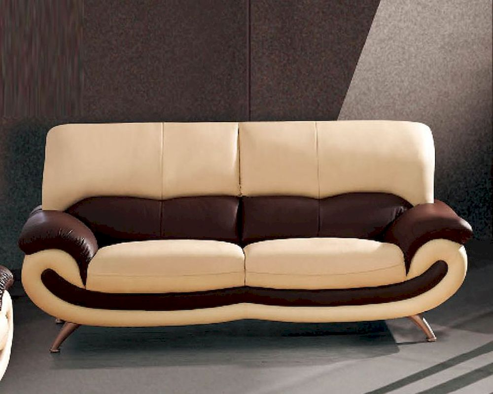 European Furniture Modern Two Tone Sofa 33ss12