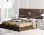 European Style Bed in High Gloss 33B622