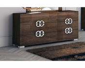 European Style Dresser in High Gloss 33B625