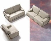 Exclusive Luxurious Full Italian Leather Sofa Set 44LPNT