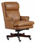 Executive Chair in Tan Finish by Hekman HE-79252T