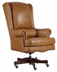 Executive Chair in Tan Leather by Hekman HE-79254T