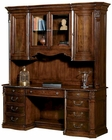 Executive Credenza w/ Hutch Old World by Hekman HE-79161