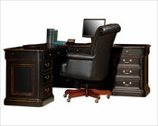 Executive L-Desk Louis Phillippe by Hekman HE-79147