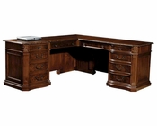Executive L-Desk Old World by Hekman HE-79167