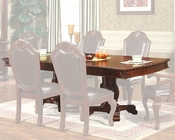 Expandable Pedestal Dining Table in Classic Cherry MCFD5006-T