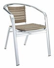 Express Indoor-Outdoor Dining Chair in Silver by Modway MY-EEI550SLV