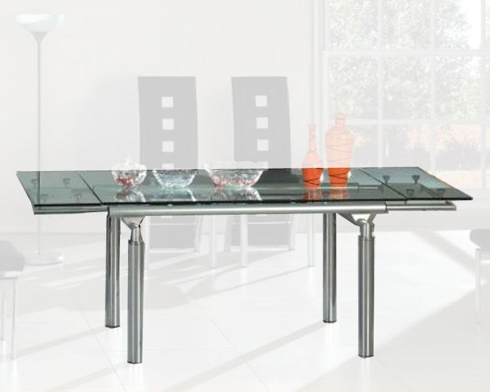 Dining Table wGlass Top OL DT06
