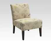 Fabric Accent Chair in Contemporary Style by Acme Furniture AC96231