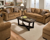 Fabric Sofa Set Torilyn Walnut by Acme Furniture AC51235SET