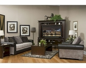 Fairmont Designs Living Room Set Dunhill in Black FA-D3510