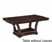 Fairmont Designs Pedestal Dining Table Monacelli FA-C4013-04TB