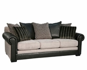 Fairmont Designs Sofa Dunhill in Black FA-D3510-03