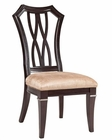 Fairmont Designs Wood Back Side Chair Monacelli FA-C4013-01 (Set of 2)