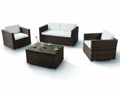 Four-Piece Modern Patio Sofa Set 44P831-SET