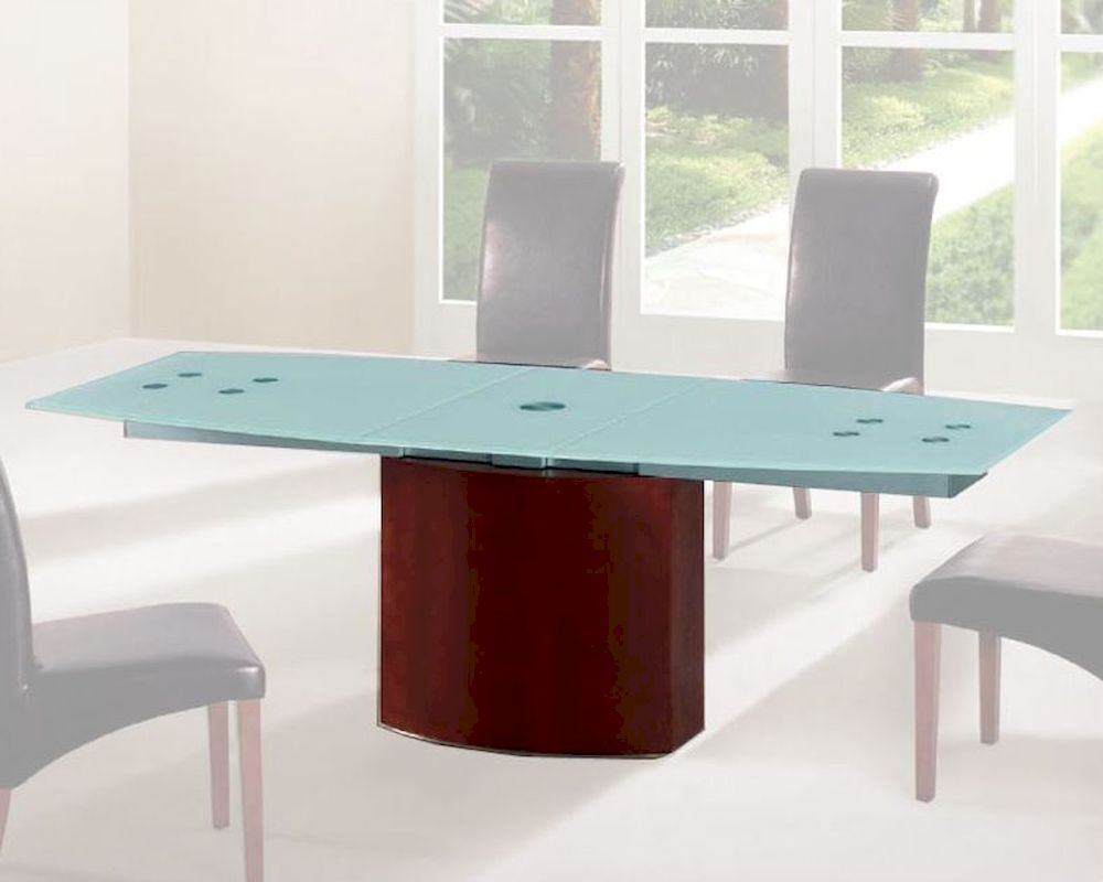 Frosted Glass Top Dining Table European Design 33D362 : frosted glass top dining table european design 33d362 22 from www.homefurnituremart.com size 1000 x 800 jpeg 63kB